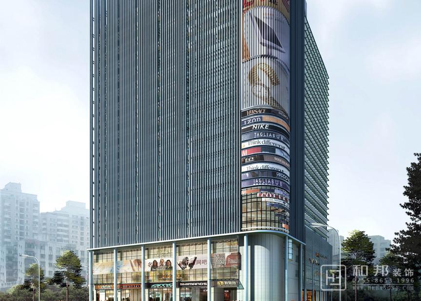 南山区新绿岛大厦改造工程设计