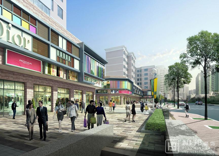 南山区学府路沿街改造工程设计